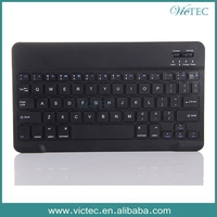 7/10 inch Universal Tablet Aluminum Alloy Wiredrawing Mini Bluetooth Keyboard