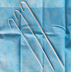 Endotracheal Tube Intubating Stylet/Endotracheal Tube Intubation Stylet with Maalleable Aluminium Coating Pvc