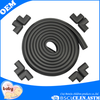china factory custimized table edge guard rubber bumper strip anticollision foam strip