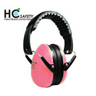 HC706 Ho Cheng CE EN352-1 ANSI Z87 folding lightweight child earmuff manufacturer