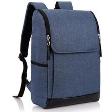 Multifunction laptop backpack with top quality canvas school bags