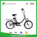 36V 10AH foldable electric bike with lithium battery, pedals/throttle bar