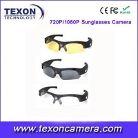hd sunglasses camera with remote control 1080P CAMERA GLASSES te-665