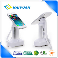 Retail store anti theft security display holder for mobile phone