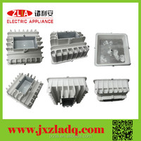 Extruded aluminum parts square radiators for led street lights