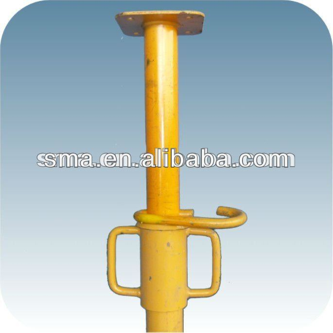 construction heavy duty support guangdong steel props ( Real Factory in Guangzhou)