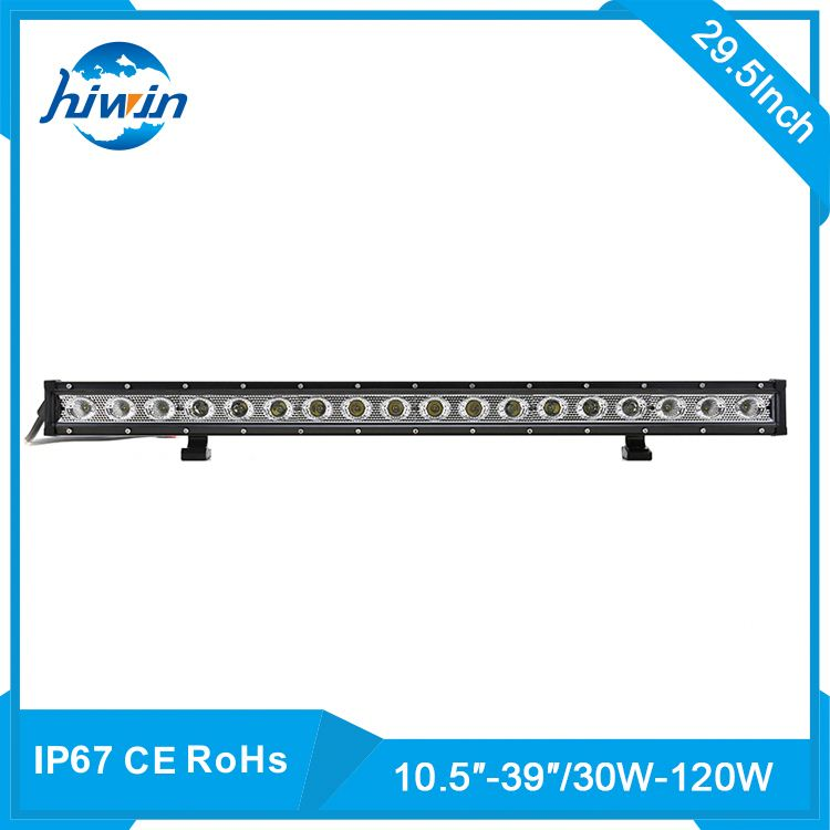 Hiwin 90w 30inch 30-120w/10-39inch optional 6000k Alu Firm Bracket Flood 29.5 90w led light bar for porsche c ayenne