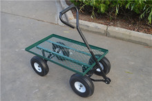 Mesh Deck 300 Pound Capacity Convert Utility Flatbed cart