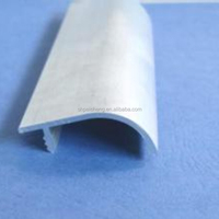 PVC F shape channel profile/corner bead for furniture/window/door/ceiling