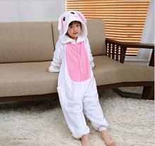 hot sales high quality flannel pajamas animal kids onesie