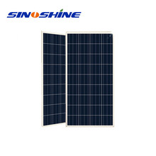 Alibaba high efficiency low price 150W PV solar panel with expored in Pakistan Lahore
