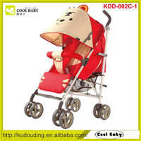 Kids Stroller New Lightweight Red Baby Buggy
