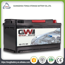 DIN100ah 60038mf high capacity sealed 12v car battery specification discount auto batteries