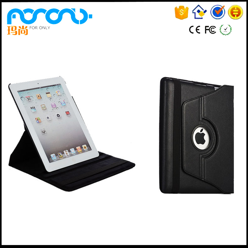 Black Leather Sleeve Case for iPad 2/3/4 9.7 Wholesale Tablet accessory