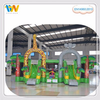Good funny inflatable sport game indoor playground used commercial playground equipment sale