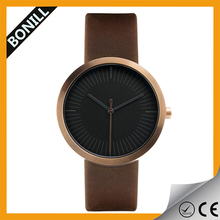 High quality simple leather watch men wholesale brand watch accept paypal
