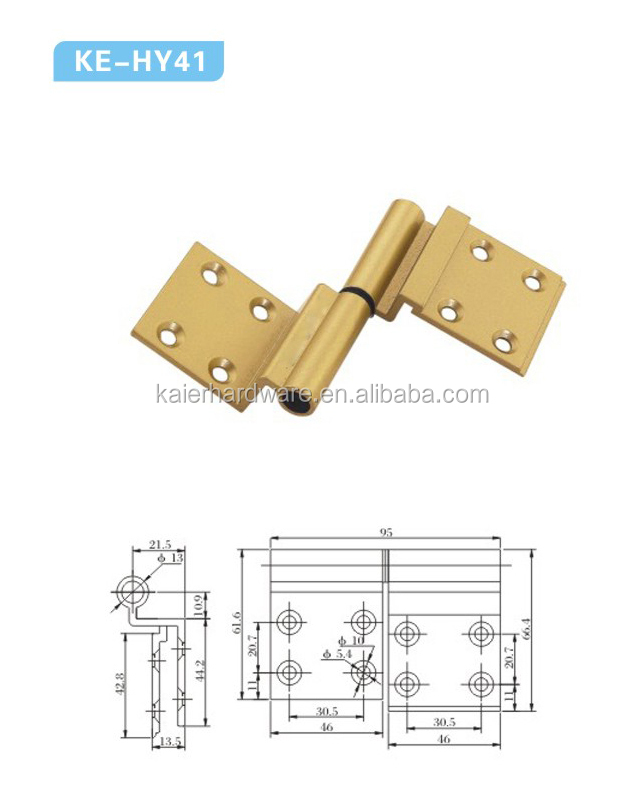 hotsale plastic hinges,aluminum door and windows handle,windows hinges KE-HY41