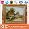 High Resolution Attractive Make Your Own Design Custom Printed Logo Oil Paintings On Canvas Print