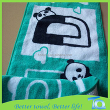 100% Cotton Eco Friendly Printed Yoga Towel Hot Sale