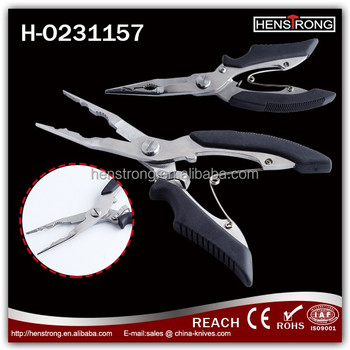 Hot Sell Cheap Normal China Fishing Pliers With TPR Handle