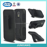 Hybrid belt clip cover case for Samsung galaxy s5
