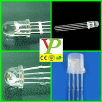 Super bright 4 Pins LED RGB 5mm 8mm 10mm RGB LED common cathode/common anode