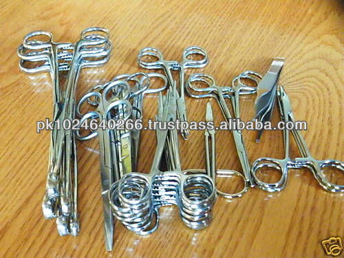 33+ pc lot set medical dental veterinary surgical tools