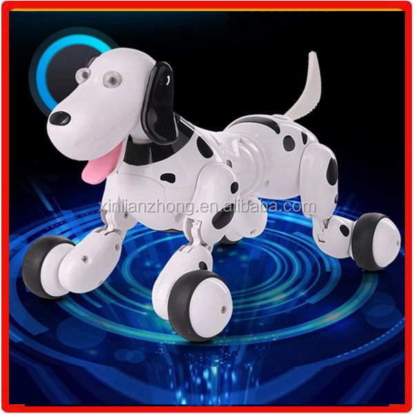 777-338 2.4G rc intelligent electronic smart robot dog toy