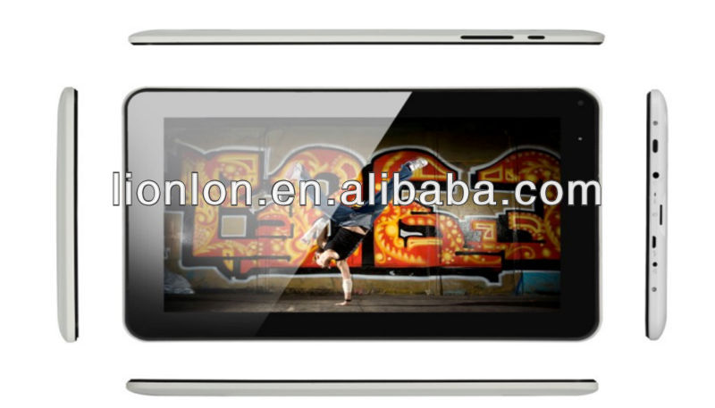 Newest product 9 inch tablet pc android 4.0 dual camera and WIFI and capacitive MID Allwinner A13