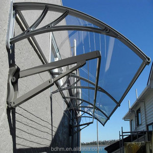 DIY awnings / polycarbonate awning / pc window canopy door shelter