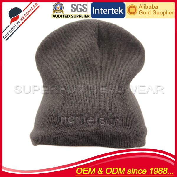 high quality good felt kufi crochet hat cap