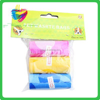 Compostable and biodegradable convenient strong quality pet waste epi pet biodegradable dog poop bags with