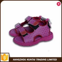 Fancy nice wholesale price newd children sandal girls