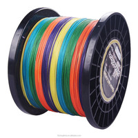 8 strands super strong high strength PE braided fishing line