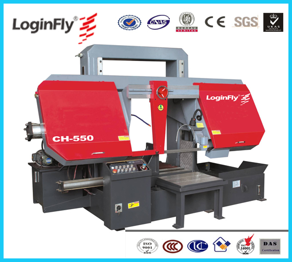 CHINA High Quality Semi automatic Band Saw steel pipe cutting tool