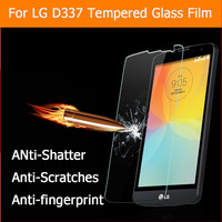 High Quality Original Crystal Clear Premium Tempered Glass Film Screen Protector For LG L Bello( D331 D337 )