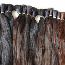 wholesale raw hair unprocessed cheap chinese virgin hair bulk from one donor
