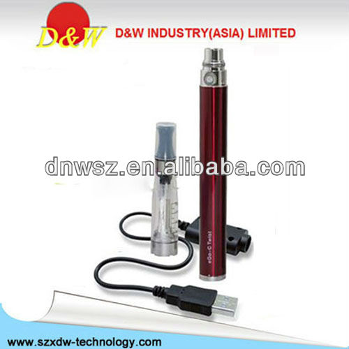 Variable Voltage Electronic Cigarette Battery EGO-C Twist E Cigarette