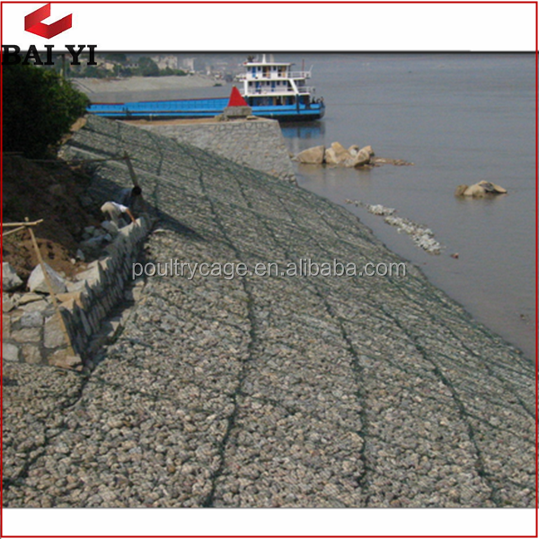 Zn-5%Al Coated Gabion Wire Mesh And PVC Coated Reno Mattress For Sale Cheap