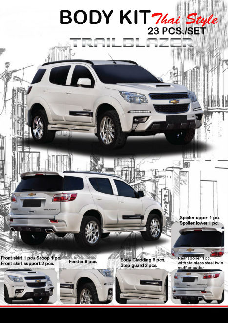 Body kit for New Chevy Trailblazer 2013