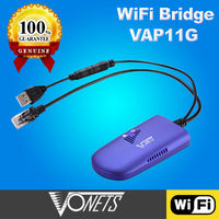 VONETS WIFI BRIDGE VAP11G CPE For Dreambox Xbox PS3 VOIP WiFi Dongle Wireless Bridge AP Adapter/WIFI COMMUNICATION