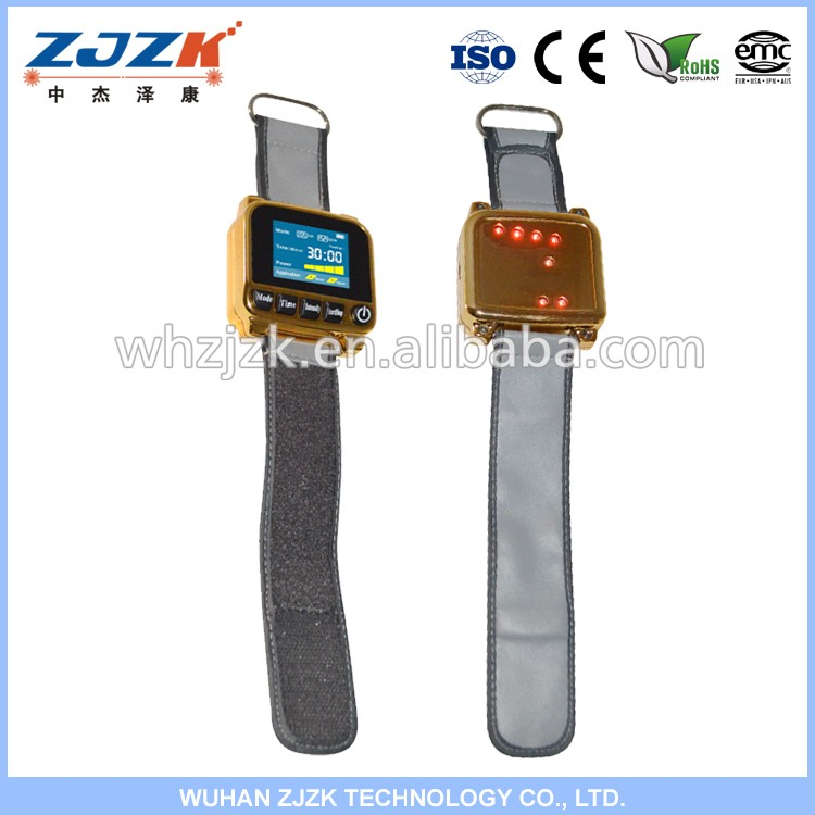 Diabetes cure laser watch 650nm Laser Therapy Device for family use