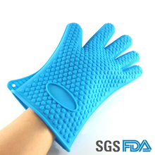 Heat protective gloves silicone pot holder