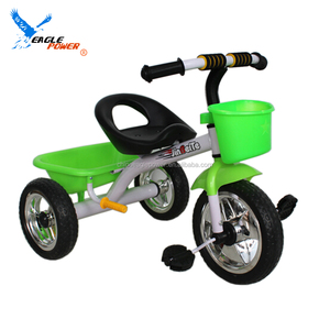 Rubber wheels cheap children baby tricycle new models