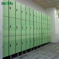 JIALIFU new style compact laminate locker with electric lock for employee