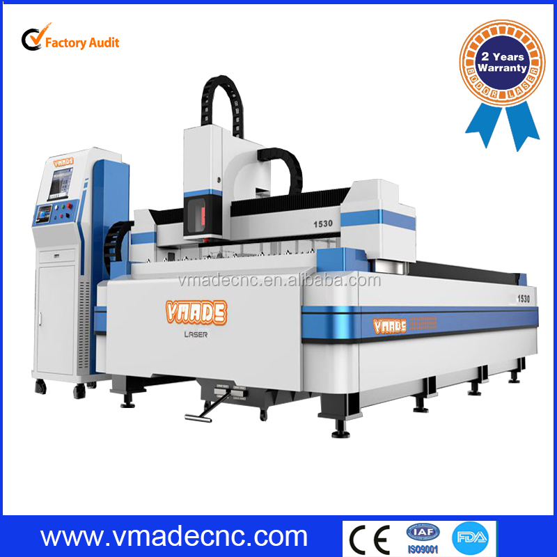 200w 500w 1000w 2000w Metal Stainless steel/ Aluminum/ Carbon Steel/ Galvanized plate Fiber Laser Cutting Machine