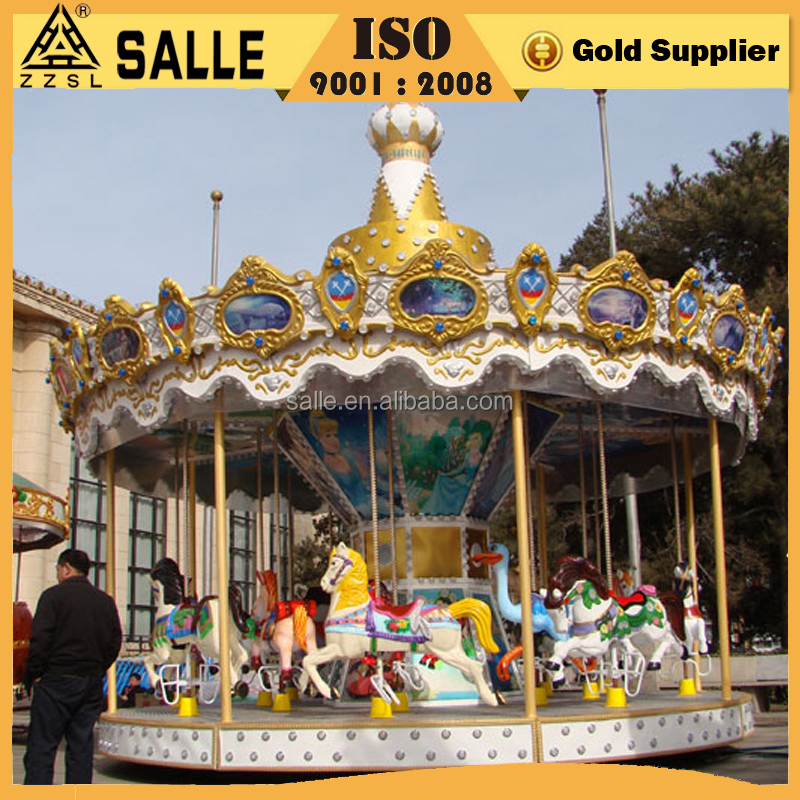 16 seats carousel horse exciting carousel rides amusement park carousel
