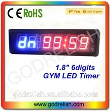 "Hot selling red indoor 1"" 4 digit mini desk led countdown timer low price"