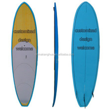 Sandwich structure EPS foam core surfboard/ customized SUP paddle board/12'6'' racing board