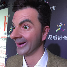 Celebrity Mr Bean Statue Realistic Silicone Wax Figure